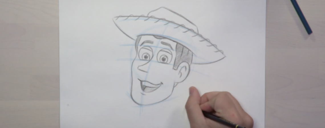 Learn to Draw Woody from 'Toy Story' at Toy Story Land